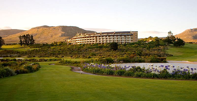 The Arabella Hotel overlooks one of the finest golf courses in South Africa.