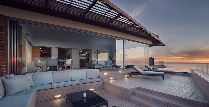 Ellerman House's lavish villas enjoy stunning views of Table Bay.