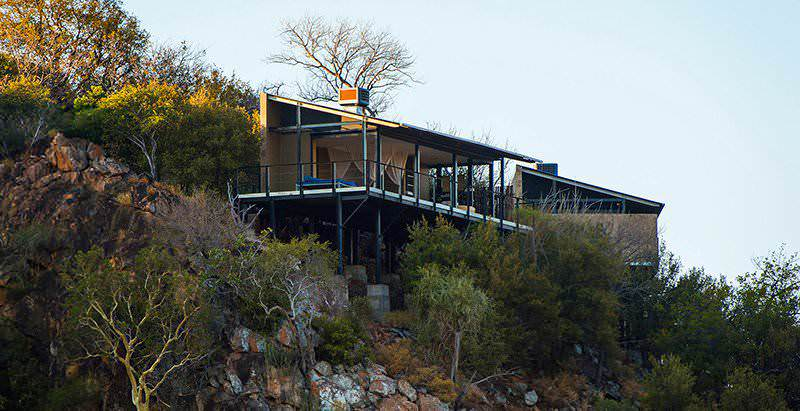 The suites of the Outpost Lodge enjoy magnificent views across the northern Kruger National Park.