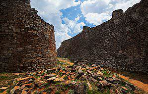 The fascinating ruins of Great Zimbabwe.