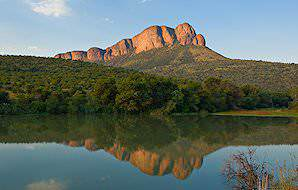 The bewitching scenery typical of the Waterberg and Marakele National Park.