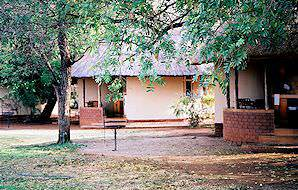 The tranquil grounds of Satara Rest Camp in the Kruger National Park.