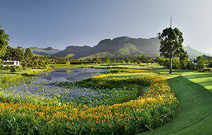 The Fancourt Outeniqua Golf Course in South Africa's Garden Route region.