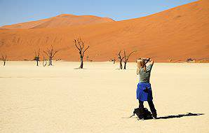Deadvlei offers some of the finest photographic opportunities imaginable.