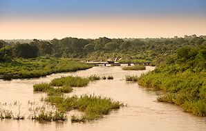 The Sabie River is one of the Kruger National Park's perennial waterways.