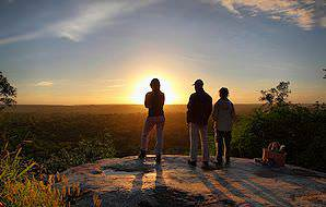 Enjoy a sundowner with a view at Mala Mala Game Reserve.