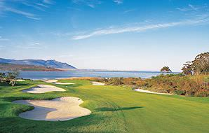 Arabella Golf Course overlooks the Bot River Lagoon in the Overberg.