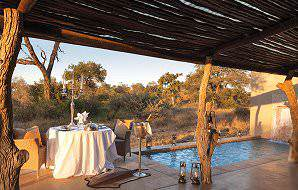 Kings Camp offers romantic honeymoon accommodation.