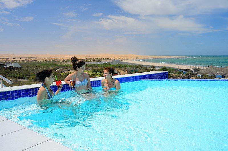 Beach Hotel Swakopmund African Sky