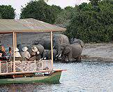 Sunset cruises on the Chobe River are always a highlight of Chobe safaris.