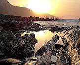 The shores of the Garden Route are wild and rugged.