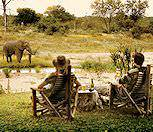 A relaxing afternoon at Motswari Lodge in Timbavati.