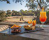 Safari lodges enjoy spoiling guests with gourmet treats.