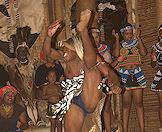 Enjoy traditional performances at Shakaland in Zululand.