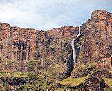 Tugela Falls is the world's second highest waterfall.
