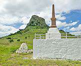 The Isandlwana Battlefield in KwaZulu-Natal.