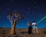 An informative star-gazing experience at a lodge in Sossusvlei.