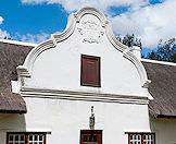 Many of the Cape Dutch homesteads of the wine estates have been beautifully preserved.
