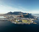 A spectacular aerial view of South Africa's Mother City.
