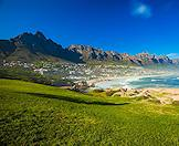 The peaks of the Twelve Apostles overlooking Camps Bay.