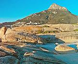 Lion's Head as seen from Camps Bay Beach.
