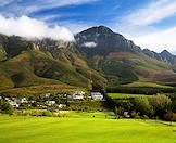 Erinvale Golf Course on the slopes of the Helderberg.