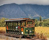 A train ride in the surrounding area of Franschhoek.