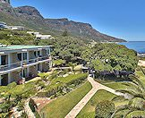 An exterior view of Ocean View House in Camps Bay.