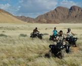 A quad bike safari in the Namib-Naukluft National Park.