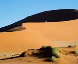 Guests exploring the dunes of Sossusvlei.