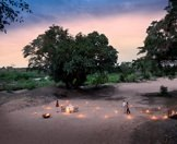 A private outdoor dining experience in the wilderness of the Sabi Sand.