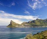 Hout Bay as seen from Chapman's Peak Drive.