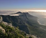 The Twelve Apostles as seen from the top of Table Mountain.
