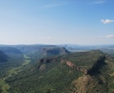 An aerial view of the Waterberg region.