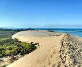 Wander to the top of a dune for grand view of the Bazaruto Archipelago.