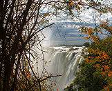 Wander up close to the Victoria Falls in Zambia.