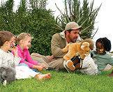Shamwari offers special safari programs for kids.