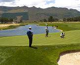 A fine day for a round of golf in South Africa's Garden Route.