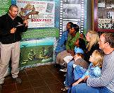 The Born Free Foundation offers a fascinating educational visit for families.