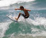 The Garden Route is ideal for surfing.