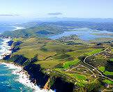 The Pezula Golf Course rolls across one of the Knysna Heads.