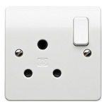 A South African wall socket.