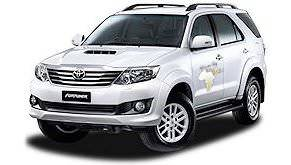 A Toyota Fortuner vehicle.