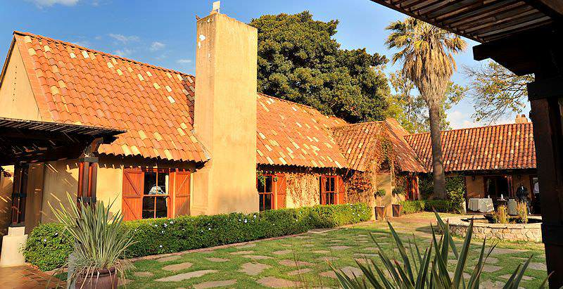 The Tuscan-style Lombardy Boutique Hotel on the outskirts of Pretoria.