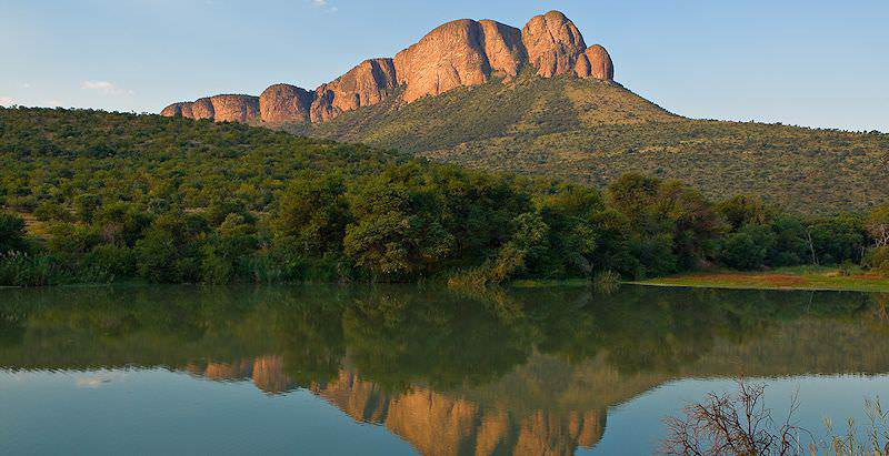 The bewitching Waterberg Mountains overlook Marakele National Park.