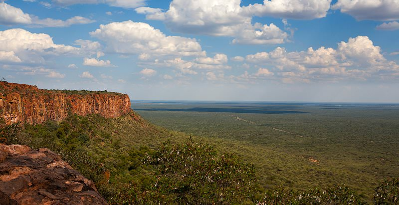Sweeping views from the Waterberg Plateau.