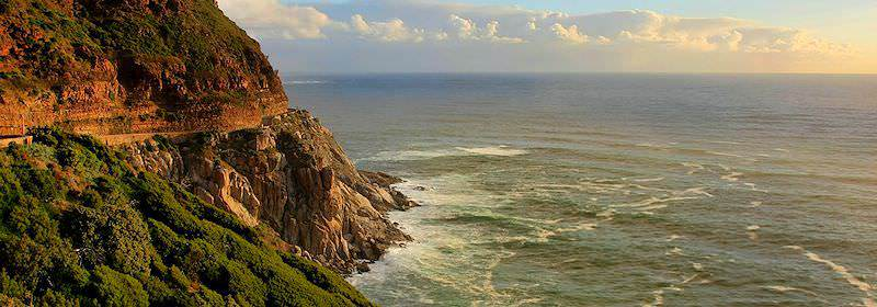 The iconic Chapman's Peak Drive of the Cape Peninsula.