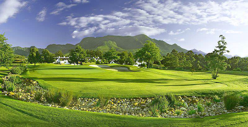 A striking view of Fancourt Outeniqua Golf Course in South Africa's Garden Route.