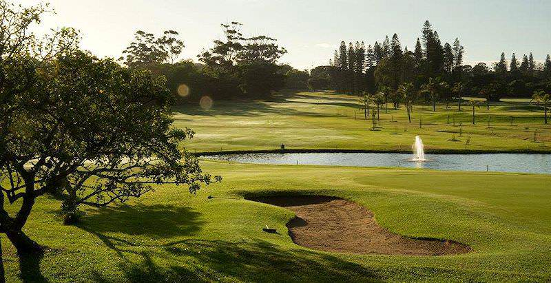 Mount Edgecombe enjoys year-round greenery in the KwaZulu-Natal province.
