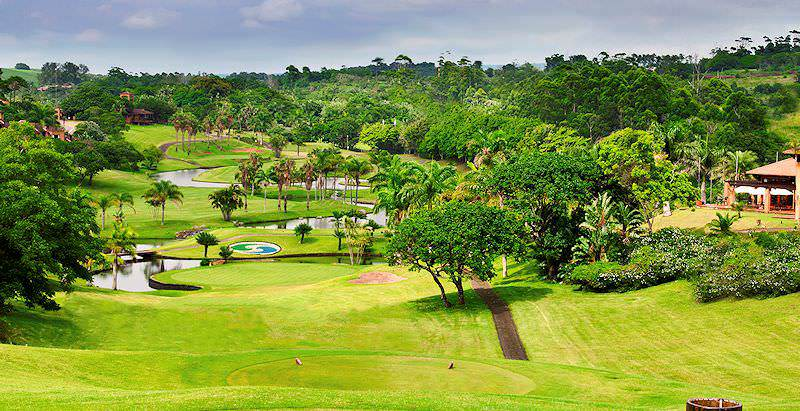 San Lameer Golf Course is characterized by its sub-tropical splendor.